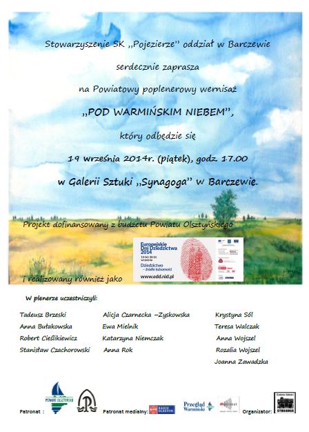 Barczewo-plakat