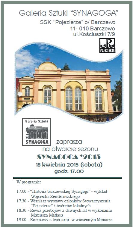 Plakat Barczewo 14042015