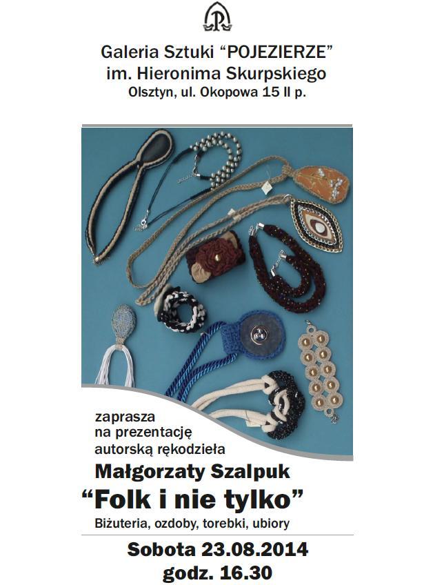 Małgorzata Szalpuk- zaproszenie