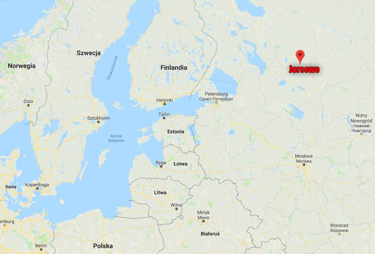 Jercewo na google maps